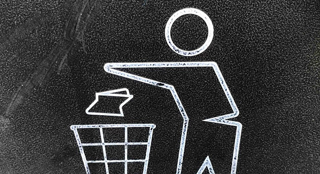 Lebomló hulladék begyűjtése