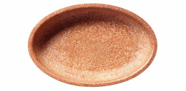 ehető tányér, bútakorpa tál