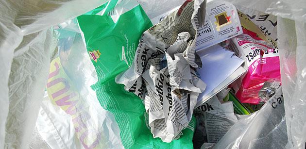 szelektív hulladékok