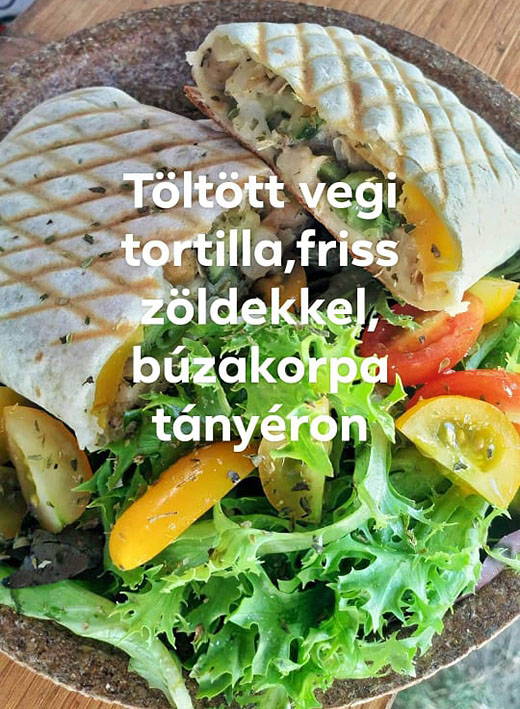 Slow Gastro Bar, Sziget 2019, tortilla