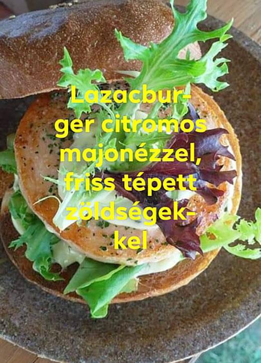 Slow Gastro Bar, Sziget 2019, lazacburger