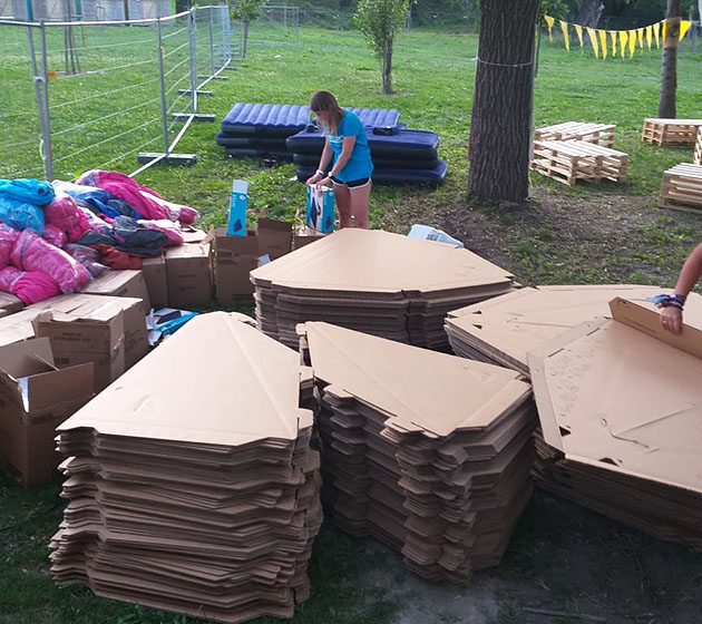 eco camping, sziget 2019