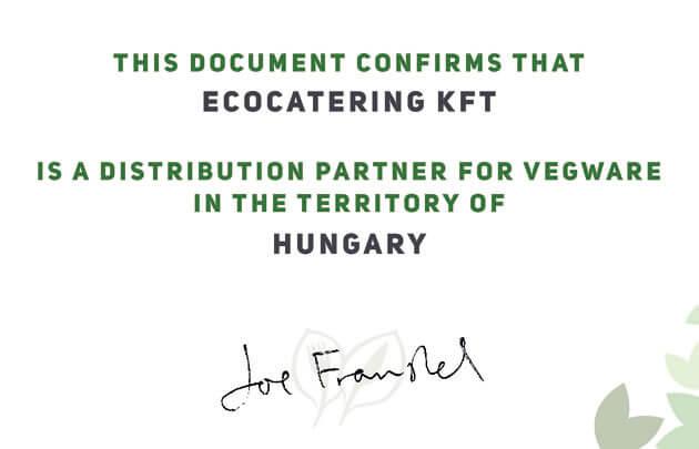 Vegware Ecocatering forgalmazó partner