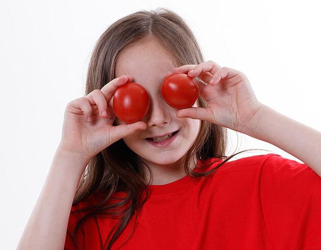 környezetvédelem gyerekeknek, táplálkozás